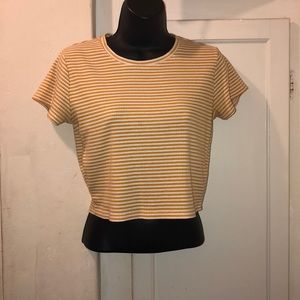 3 for $20 Cotton On striped crop tee M